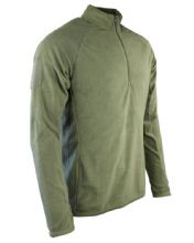 Alpha Mid-Layer Fleece - Olive Green